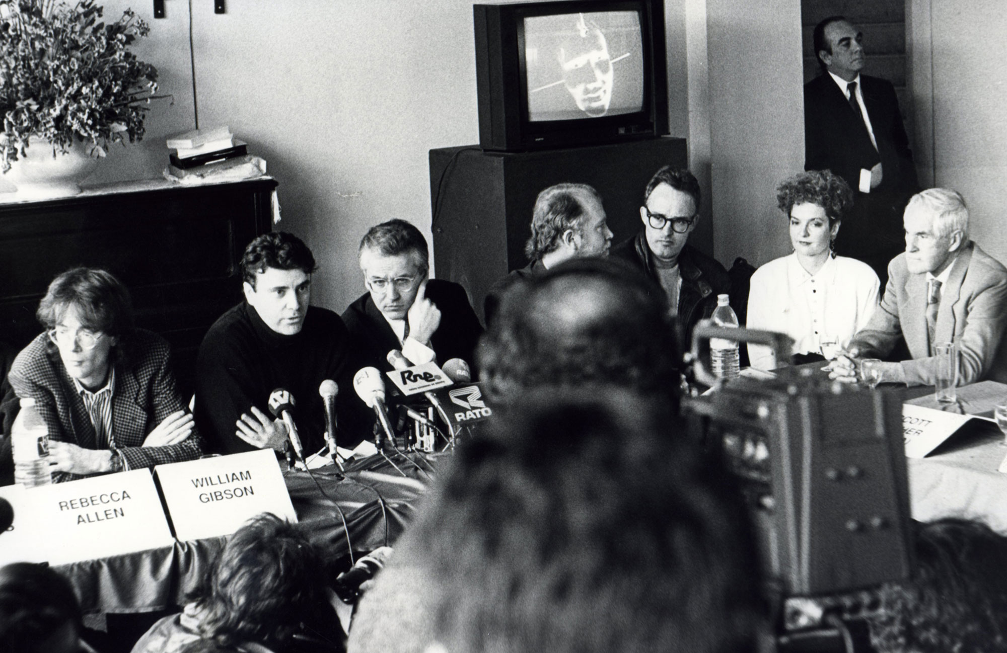 Rueda de Prensa - William Gibson, Montxo algora, Rebecca Allen y Timothy Leary