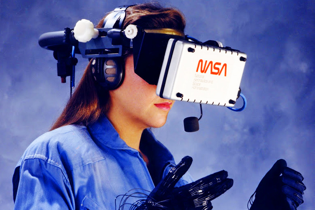 ArtFutura 1990 - Virtual Reality - Barcelona - NASA Ames Research Center