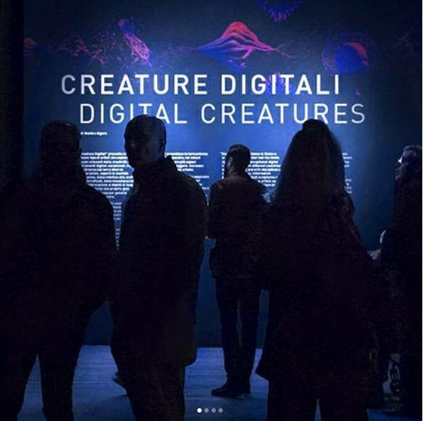 Digital Creatures - Entrance