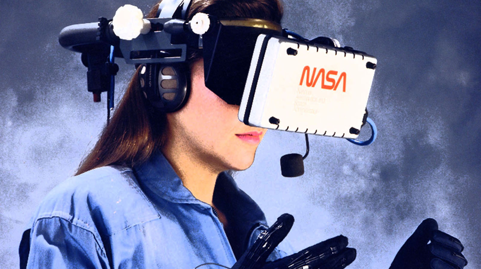Virtual Reality + 3D Internet - NASA Ames Research 1990