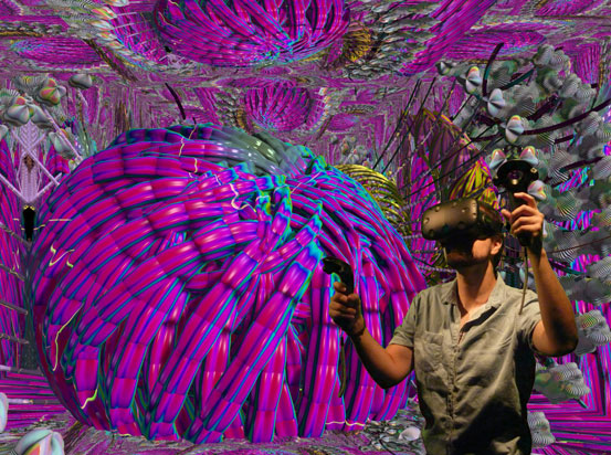 ArtFutura 2016 - Virtual Reality - William Latham